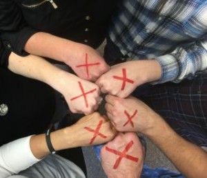 #EndItMovement Red X