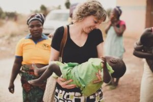 Holding a Starving Baby Girl